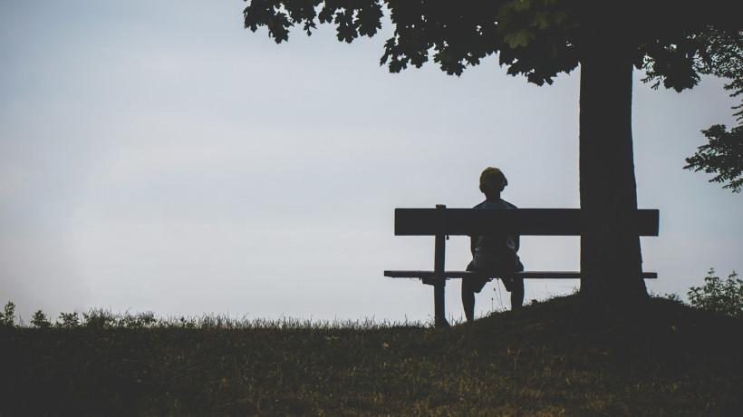 samotna osoba